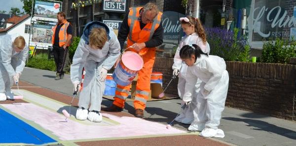 Kinderen Kleuren Zebrapaden MSVM