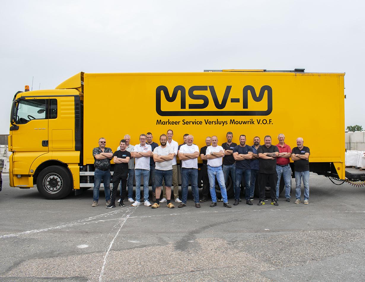 MSVM Werknemers Groepsfoto