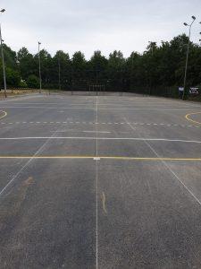 Belijning Sportveld
