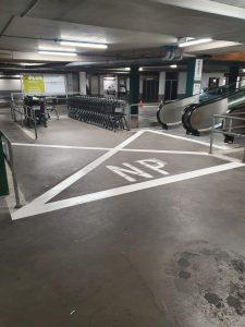 Markering Parkeergarage