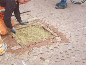 Prefab Markering Tegelwerk Noordwijk