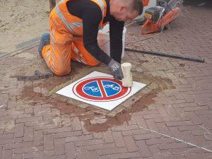 Prefab Markering Noordwijk