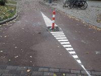 Wegmarkering Heemraadsingel Rotterdam